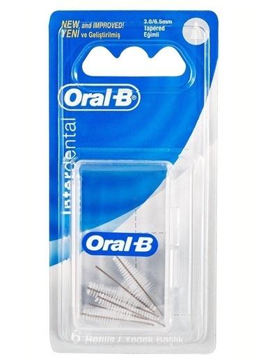 Oral-B Oral B Arayüz Fırça Yedeği 6 Lı Eğimli Renkli